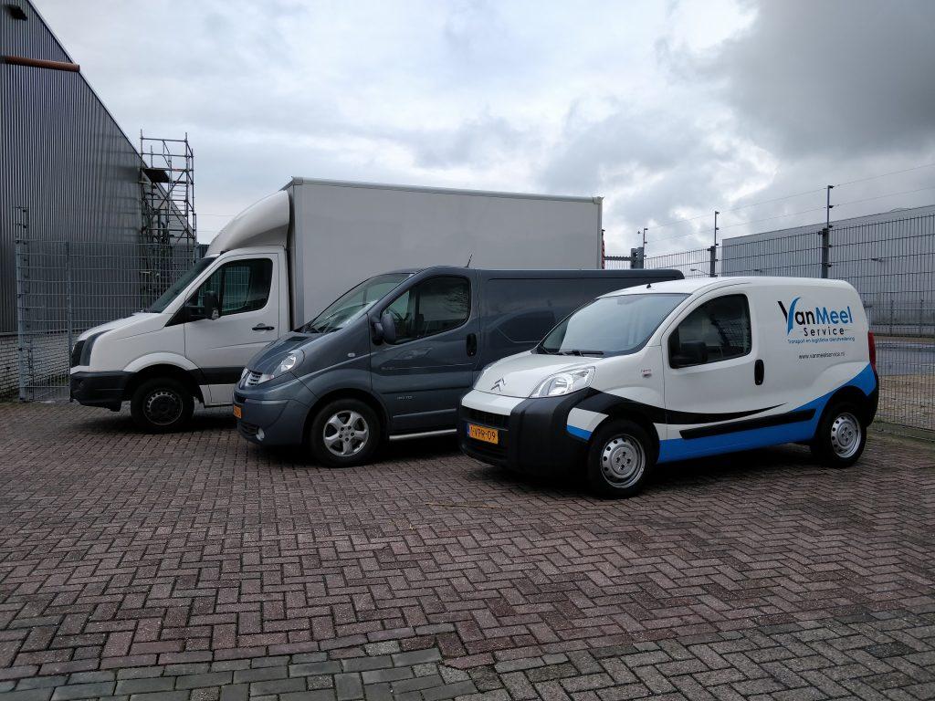 Logistieke bedrijven Roosendaal